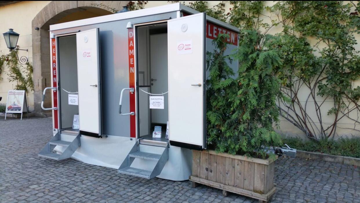 """Toilettenwagen Ex""""Clo""""Siv 2+1"""